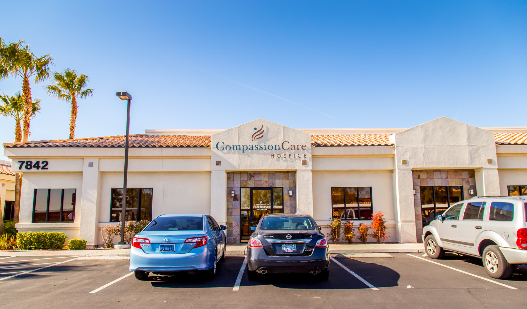 CompassionCare Hospice of Las Vegas, Nevada - Front of Building Location